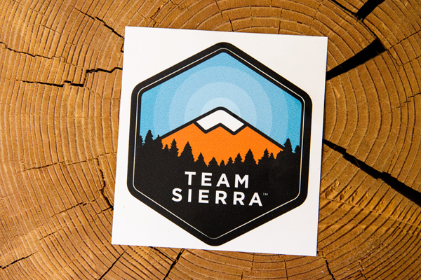 Team Sierra Sticker LARGE