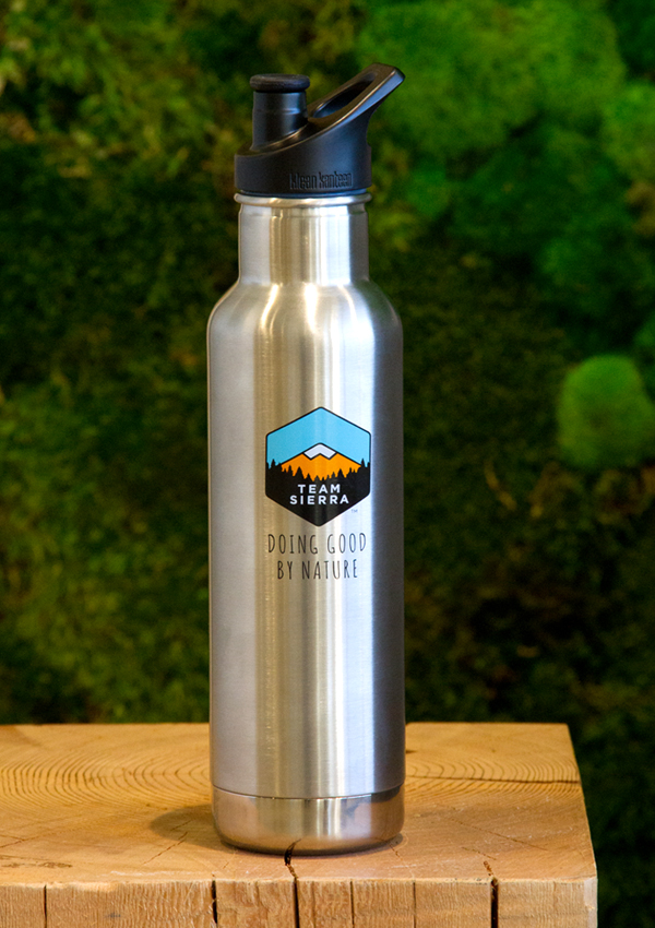 Klean Kanteen & Team Sierra Water Bottle