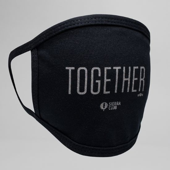 Sierra Club Together Face Mask LARGE