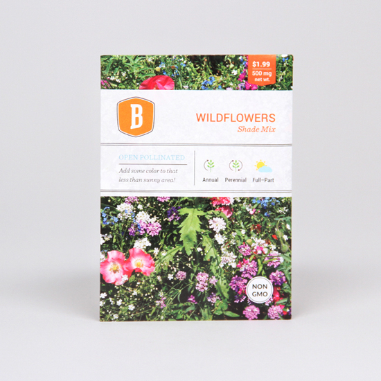 Shade Wildflower Seed Mix