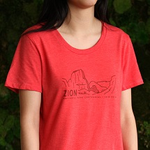Zion National Park T-Shirt_SWATCH