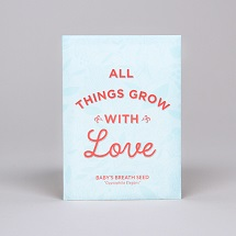 Grow with Love Seed Packet