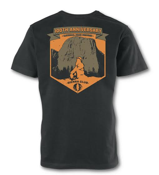 John Muir El Capitan National Park Service 100th Anniversary T-Shirt Mini-Thumbnail