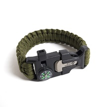 Sierra Club Paracord Survival Bracelet THUMBNAIL