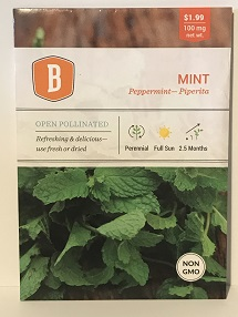 Mint (Peppermint) Seed