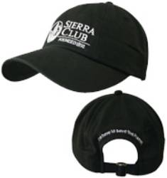 Organic Cotton Cap with Sierra Club Logo