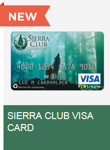 Sierra Club Visa Card