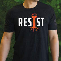 Resist Fist Rising T-Shirt THUMBNAIL
