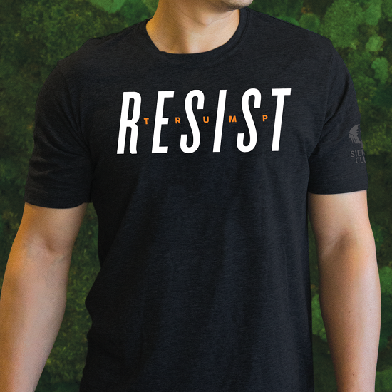 Resist Trump T-Shirt LARGE