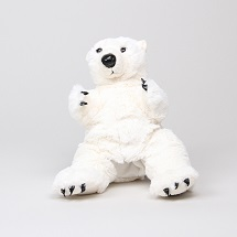 Polar Bear Standing Plush THUMBNAIL
