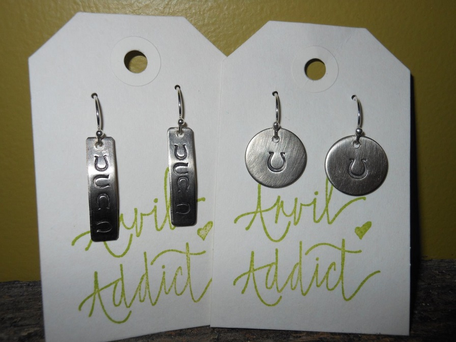 Anvil Addict Earrings THUMBNAIL