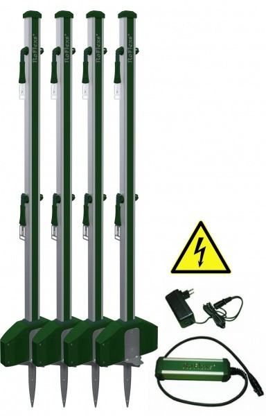 RoFlexs Electric Fencing Set (4 Posts)