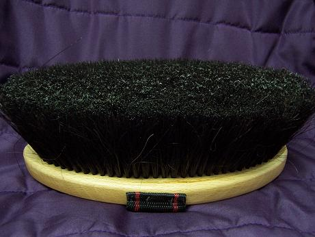 BRUSH: Vale/Equerry Body Brush Long Horsehair