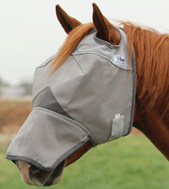 Cashel Crusader Fly Mask Long Nose MAIN