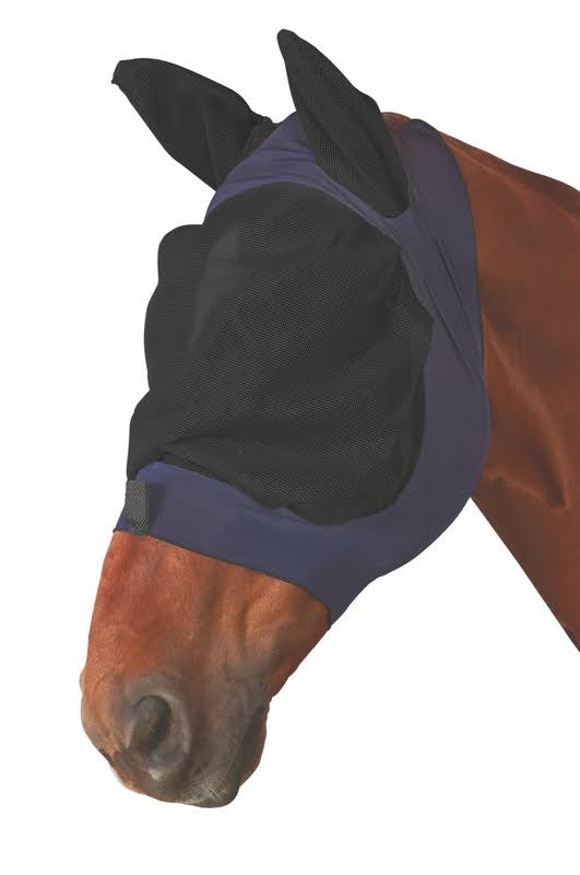 Roma Stretch Eye Saver Fly Mask THUMBNAIL