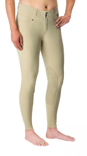 Cross-Over Knee Patch Breech