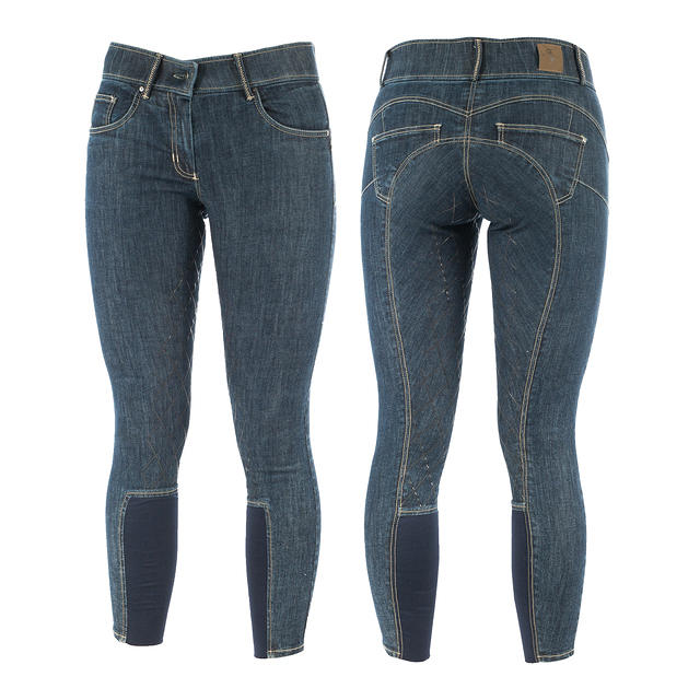 Horze Victoria Denim Breeches THUMBNAIL