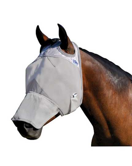 Cashel Crusader Fly Mask Long Nose THUMBNAIL