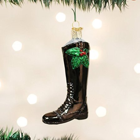 English Boot Ornament