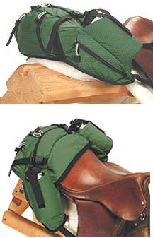 Stowaway English Cantle Bag LARGE