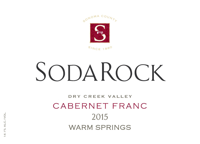 2015 Cabernet Franc Warm Springs Ranch