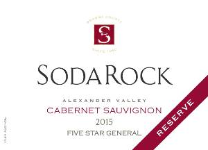 2015 Cabernet Sauvignon Five Star General