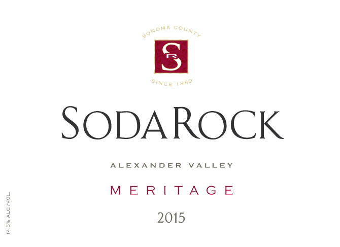 2015 Meritage - Red Blend, Alexander Valley MAIN