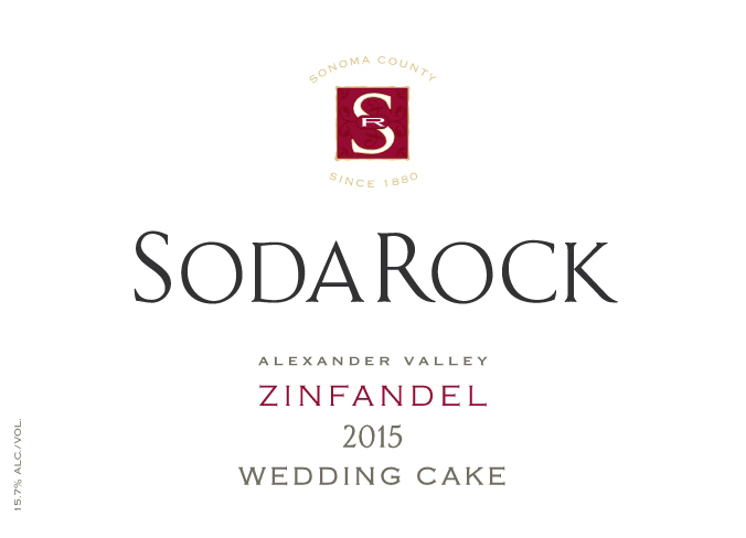 2015 Zinfandel Wedding Cake
