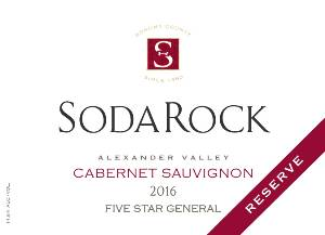 2016 Cabernet Sauvignon Five Star General THUMBNAIL