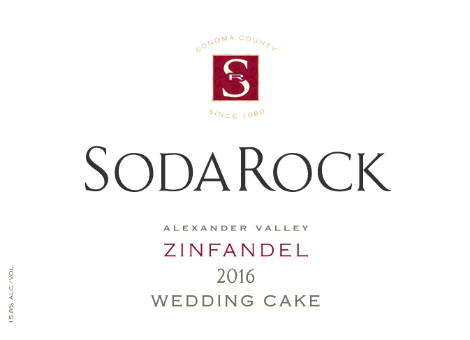2016 Zinfandel Wedding Cake