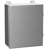 Hammond 1414N4PHS16M8 NEMA 4X Stainless Steel Enclosure