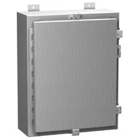 Hammond 1418N4SSLL12 NEMA 4X Stainless Steel Enclosure