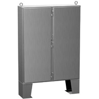 Hammond 1422N4S16D12F NEMA 4X Stainless Steel Free Standing Enclosure