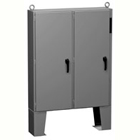 2UDF Series Floormount Steel - Hinged 2-Door