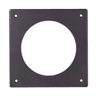 Dwyer A-300 Flat Aluminum Bracket for Flush Mounting Magnehelic Gage