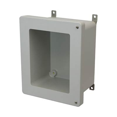 Allied Moulded AM1084HW NEMA 4X Fiberglass Enclosure