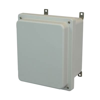 Allied AM1084R NEMA 4X & 6P Fiberglass Enclosure