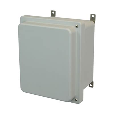 Allied Moulded AM1084RH NEMA 4X Fiberglass Enclosure