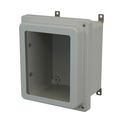 Allied Moulded AM1084RHW NEMA 4X Fiberglass Enclosure