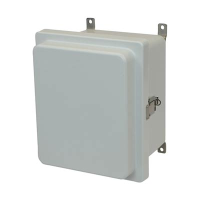 Allied Moulded AM1084RL NEMA 4X Fiberglass Enclosure_THUMBNAIL
