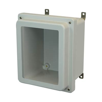 Allied Moulded AM1084RW NEMA 4X Fiberglass Enclosure