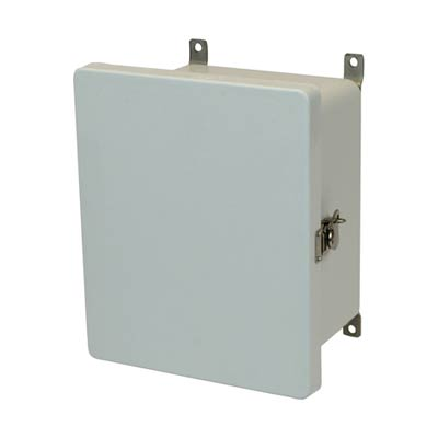 Allied Moulded AM1084T NEMA 4X Fiberglass Enclosure