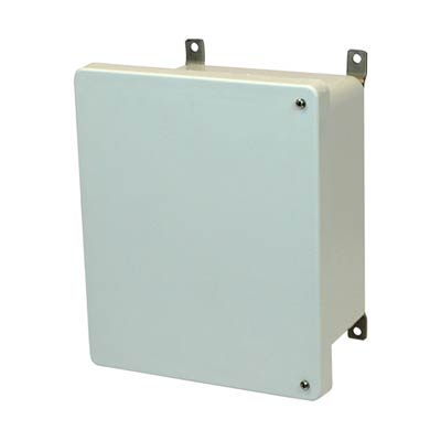 Allied Moulded AM1086H NEMA 4X Fiberglass Enclosure