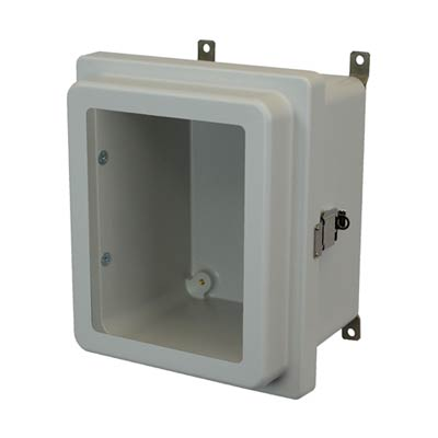 Allied Moulded AM1086RLW NEMA 4X Fiberglass Enclosure