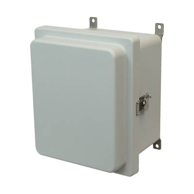 Allied Moulded AM1086RT NEMA 4X Fiberglass Enclosure
