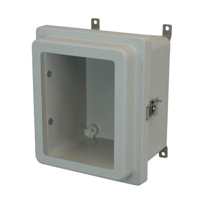 Allied Moulded AM1086RTW NEMA 4X Fiberglass Enclosure