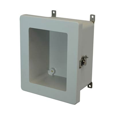Allied Moulded AM1086TW NEMA 4X Fiberglass Enclosure