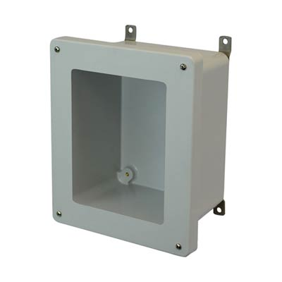 Allied Moulded AM1086W NEMA 4X Fiberglass Enclosure