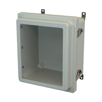 Allied Moulded AM1206RLW NEMA 4X Fiberglass Enclosure