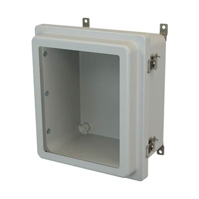 Allied Moulded AM1206RTW NEMA 4X Fiberglass Enclosure